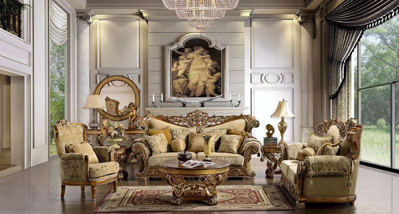 Royal European Style Interiors And European Themes | DEEJOS